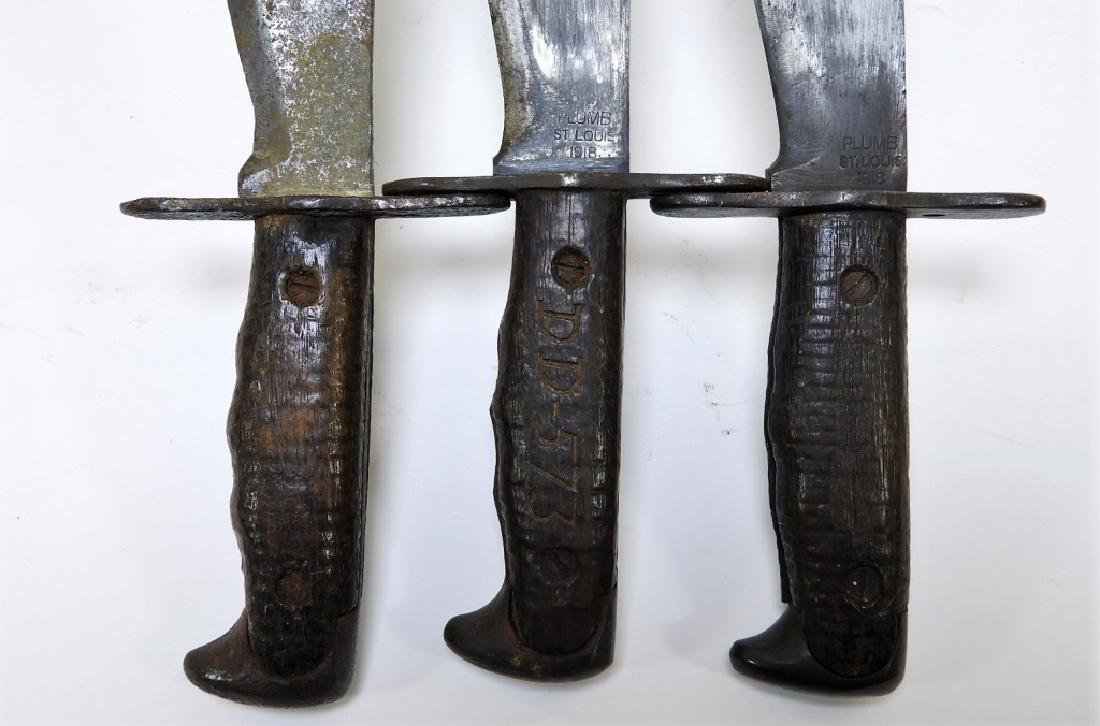 WWI Model 1917 Bolo Trench Knives by Plumb - 8