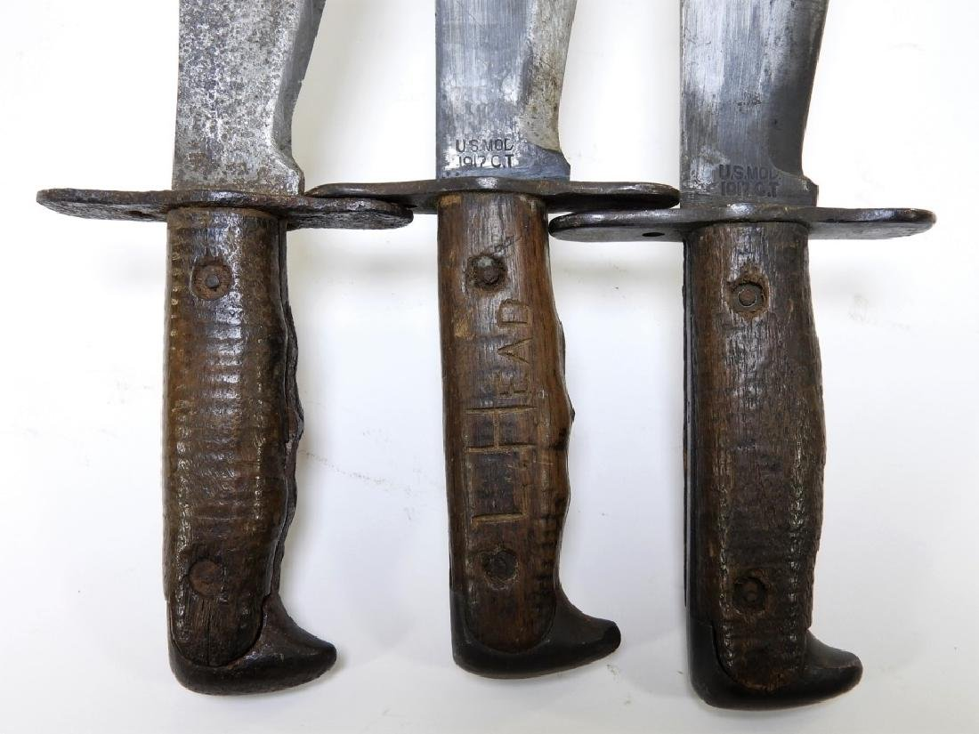 WWI Model 1917 Bolo Trench Knives by Plumb - 9