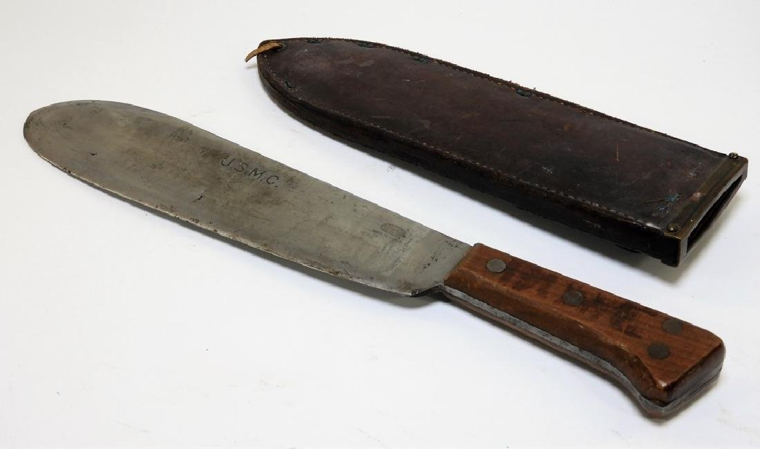 WWII USMC Medical Corps Bolo by Clyde Cutlery Co.