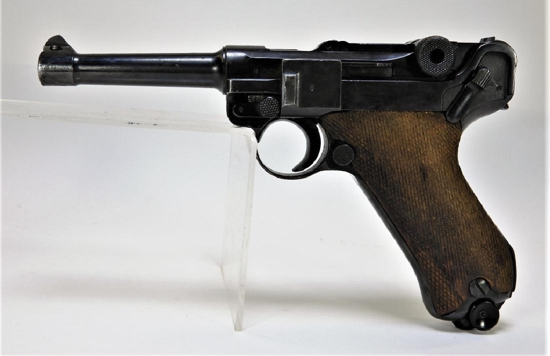 WWII German 1940-42 Mauser Lugar P-08 Pistol
