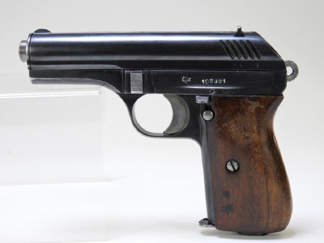 WWII Czechoslovakian Made 380 Cal Semi-Auto Pistol