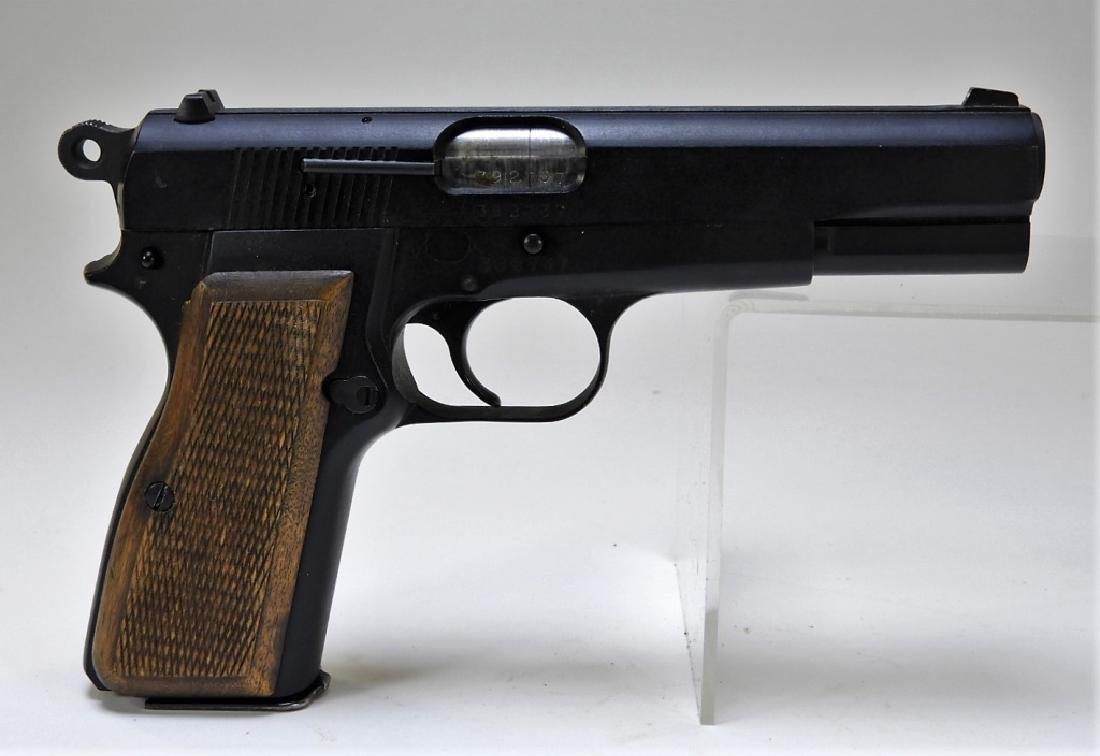 F M HI-POWER Industria Argentina 9mm Pistol