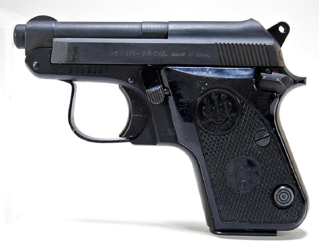 Baretta Model 950BS 25cal Pistol