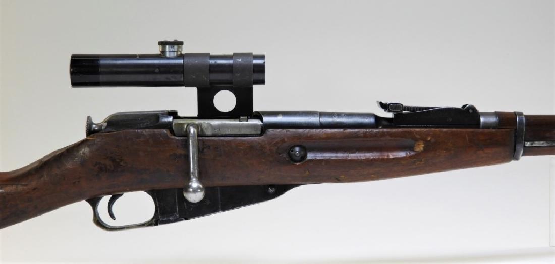 WWII Russian Mosin M1891/30 Sniper Rifle w/ Scope