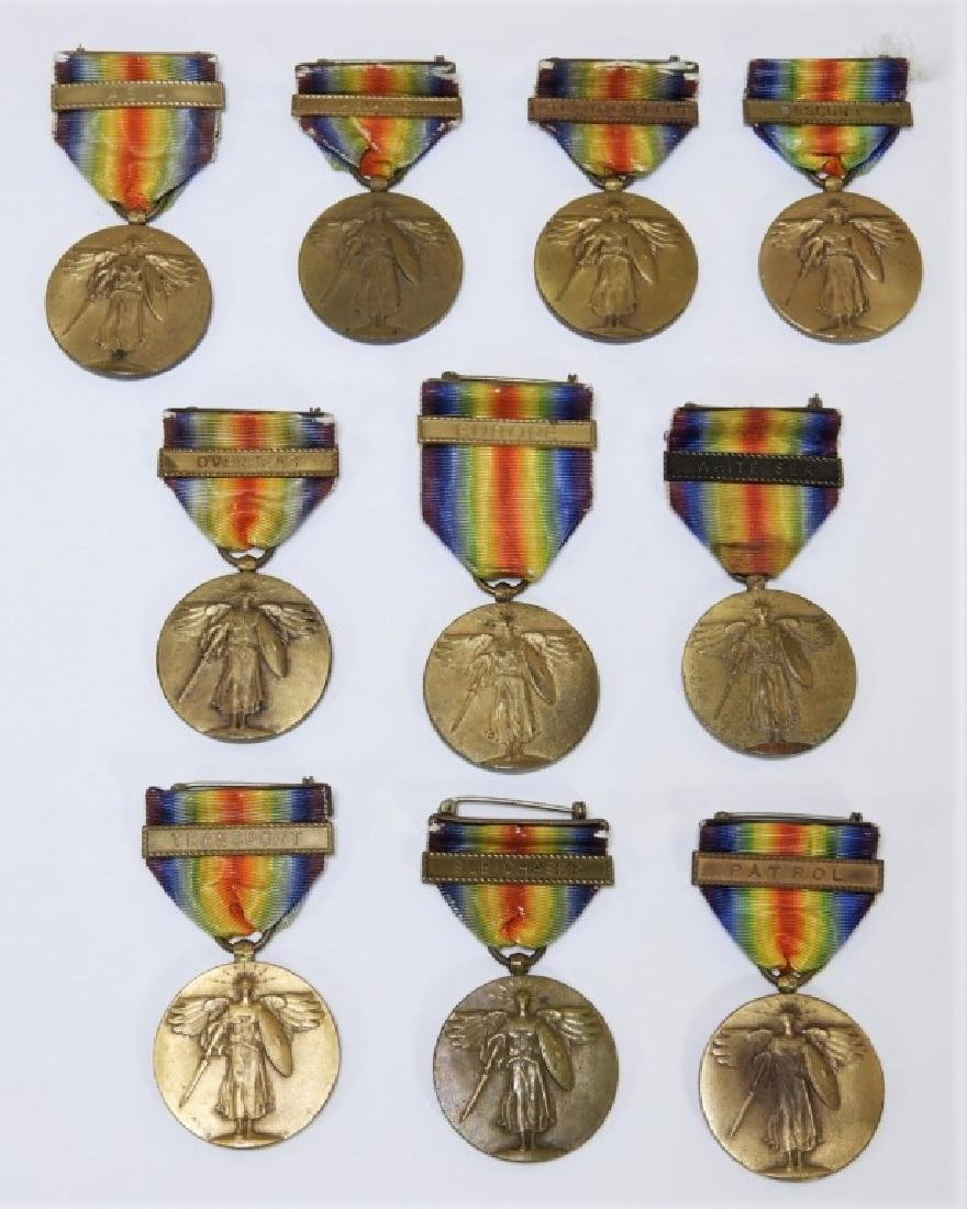 WWI American Victory Medals w/ Navy Oper. Clasps