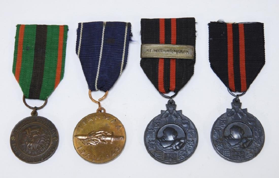 WWII Finnish Military Medals