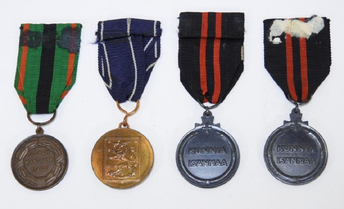 WWII Finnish Military Medals - 2
