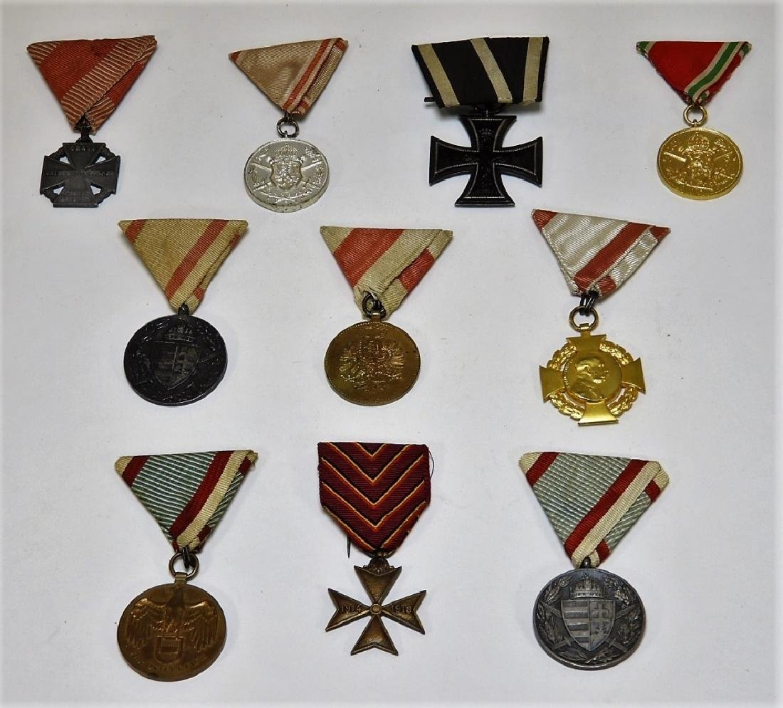 WWI & Earlier Austrian Hungarian Medals Iron Cross