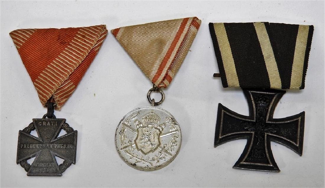 WWI & Earlier Austrian Hungarian Medals Iron Cross - 2
