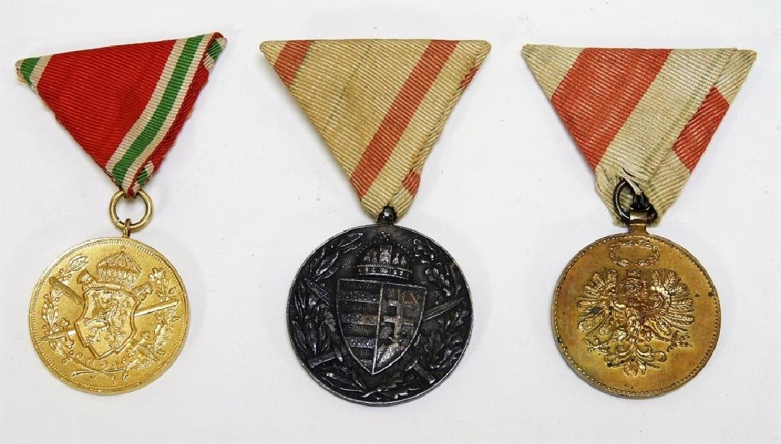 WWI & Earlier Austrian Hungarian Medals Iron Cross - 3