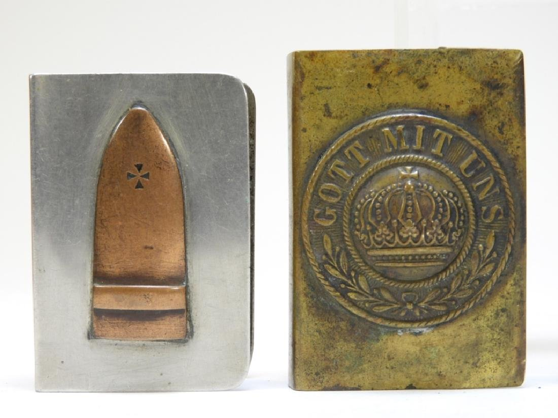 WWI German Trench Made Match Holders - 3