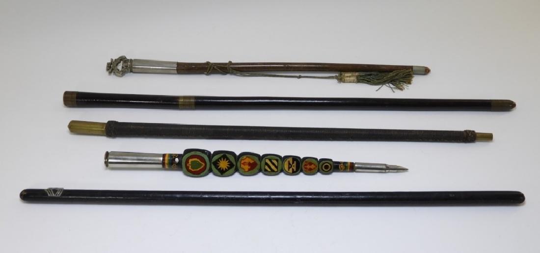 WWI - Korean War Military Swagger Sticks (5) - 2