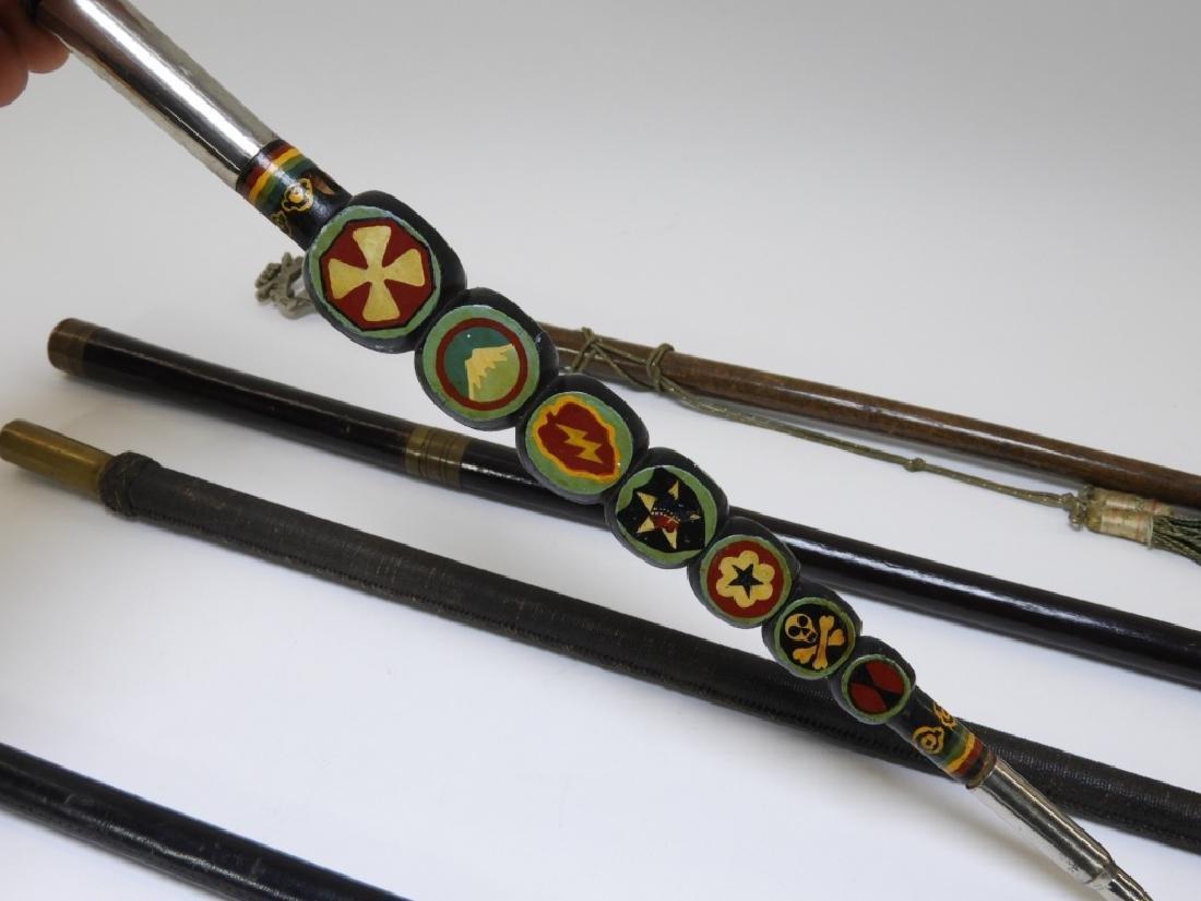 WWI - Korean War Military Swagger Sticks (5) - 7