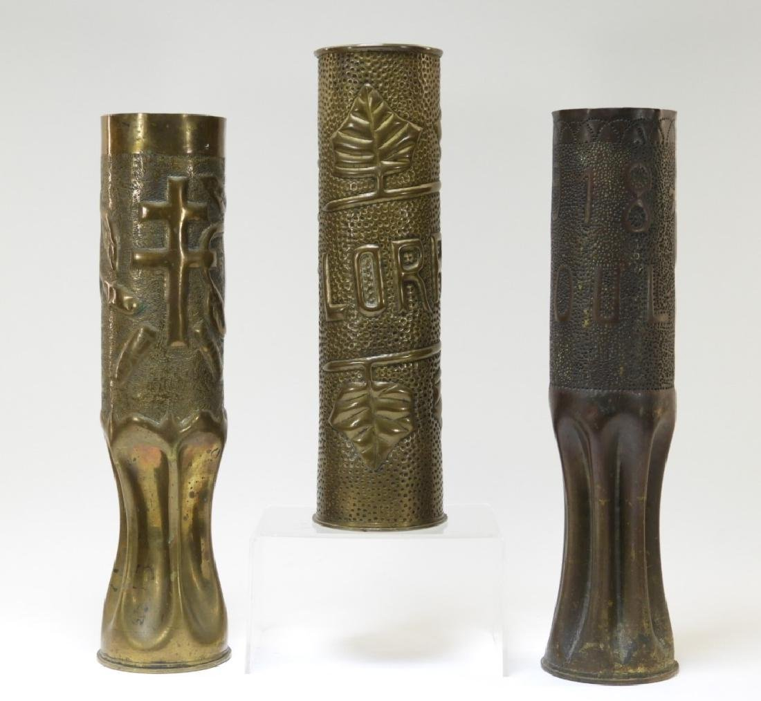 """WWI Trench Art Shell """"Lorraine"""" Toul"""" 1918 (3)"""