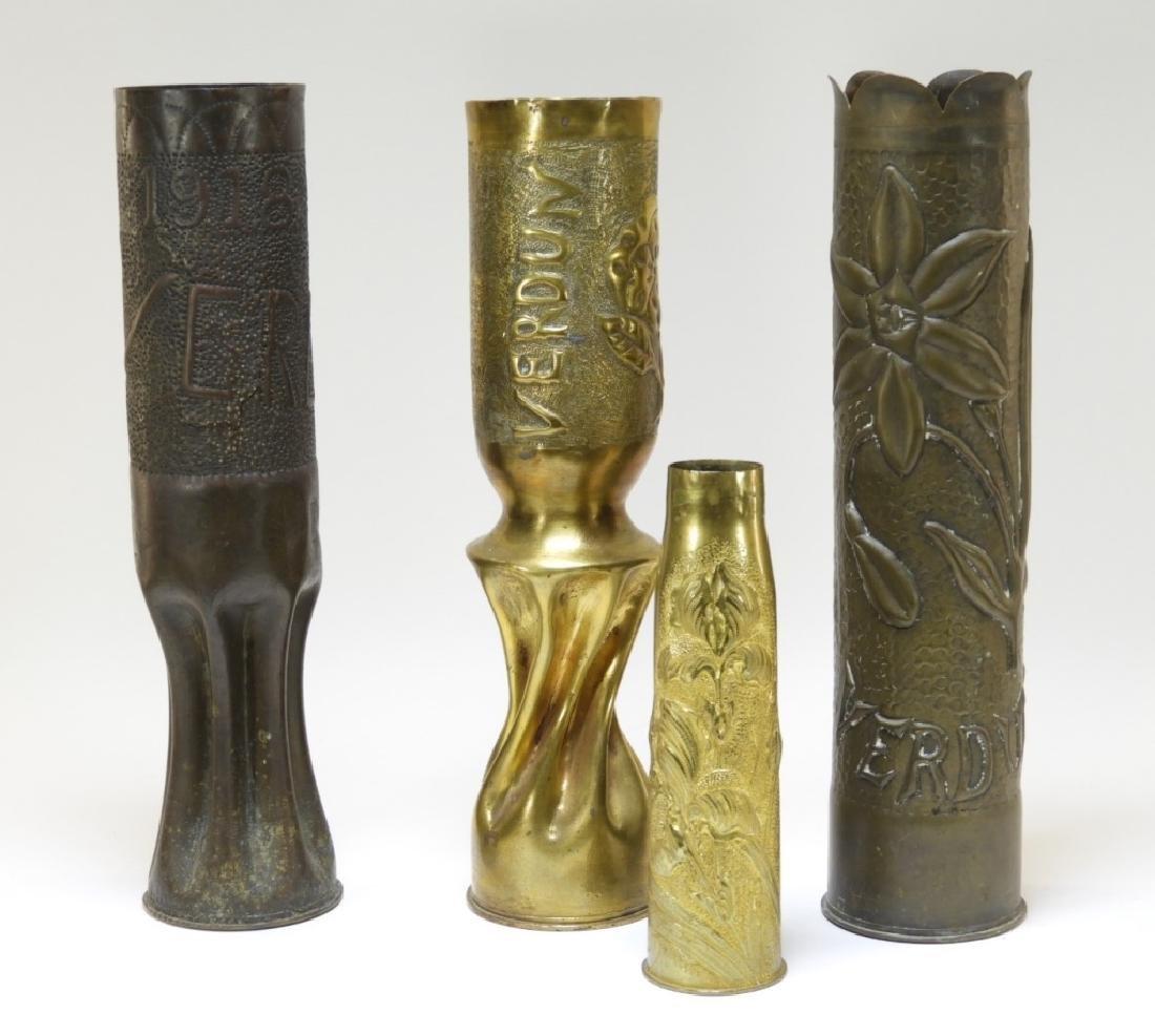 WWI Battle of Verdun Trench Art Shells Identified