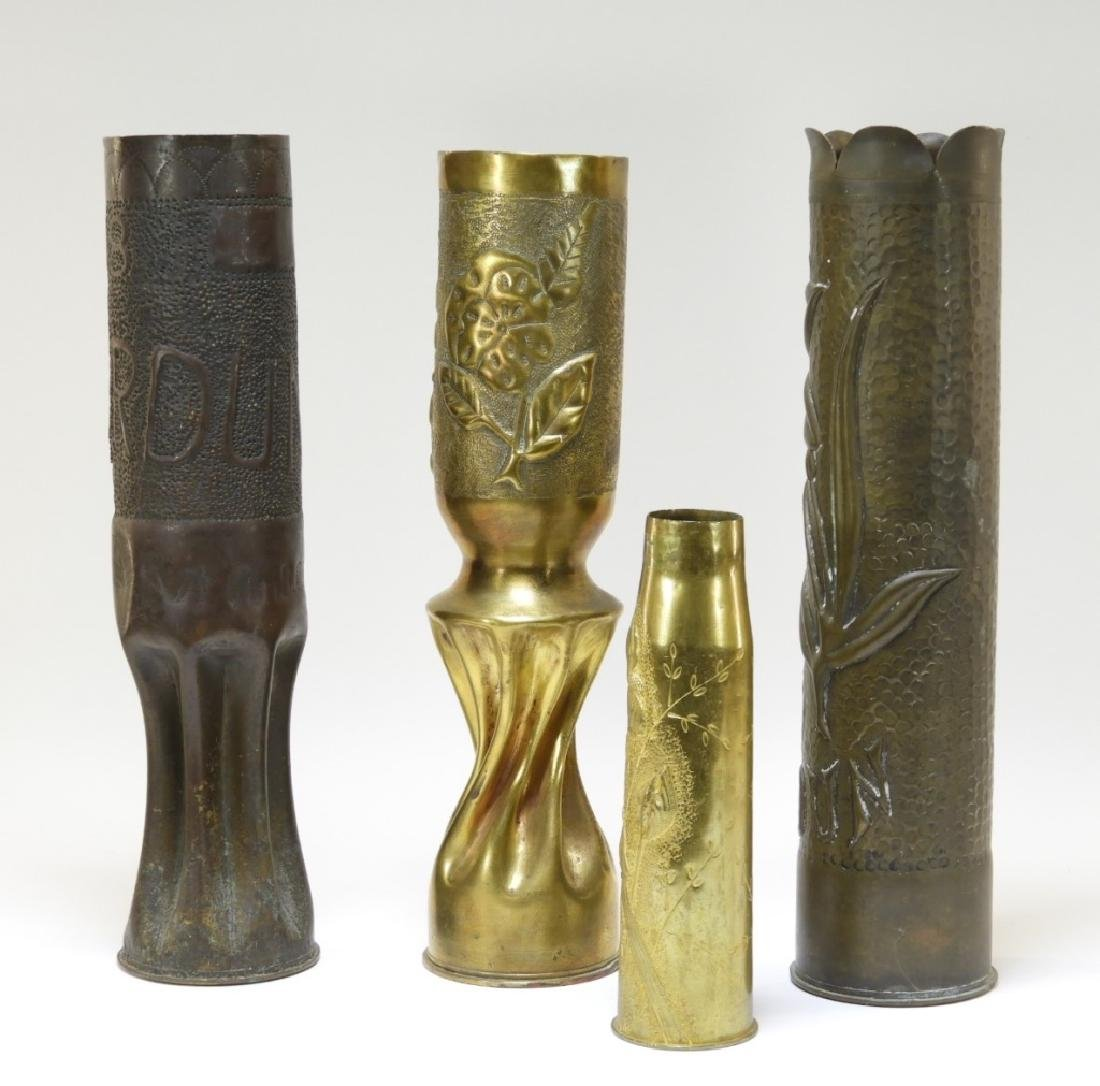 WWI Battle of Verdun Trench Art Shells Identified - 2