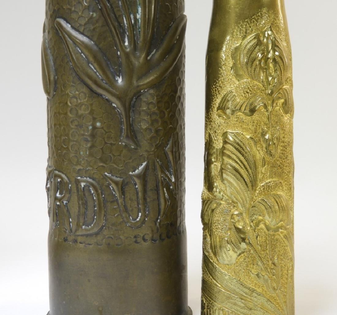 WWI Battle of Verdun Trench Art Shells Identified - 5