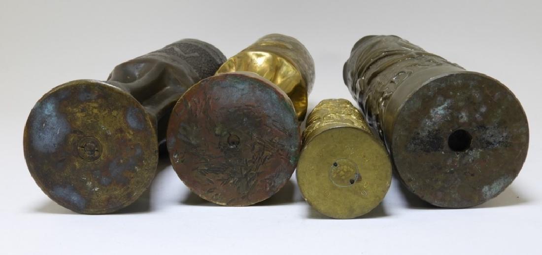WWI Battle of Verdun Trench Art Shells Identified - 7