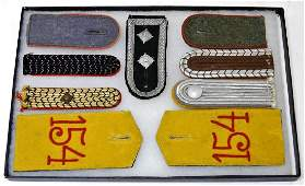 WWI to WWII German Military Shoulder Boards