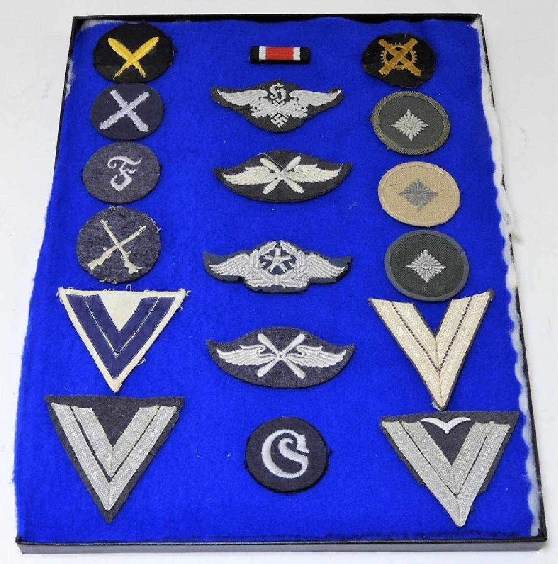 WWII German Navy & Luftwaffe Sleeve Insignia