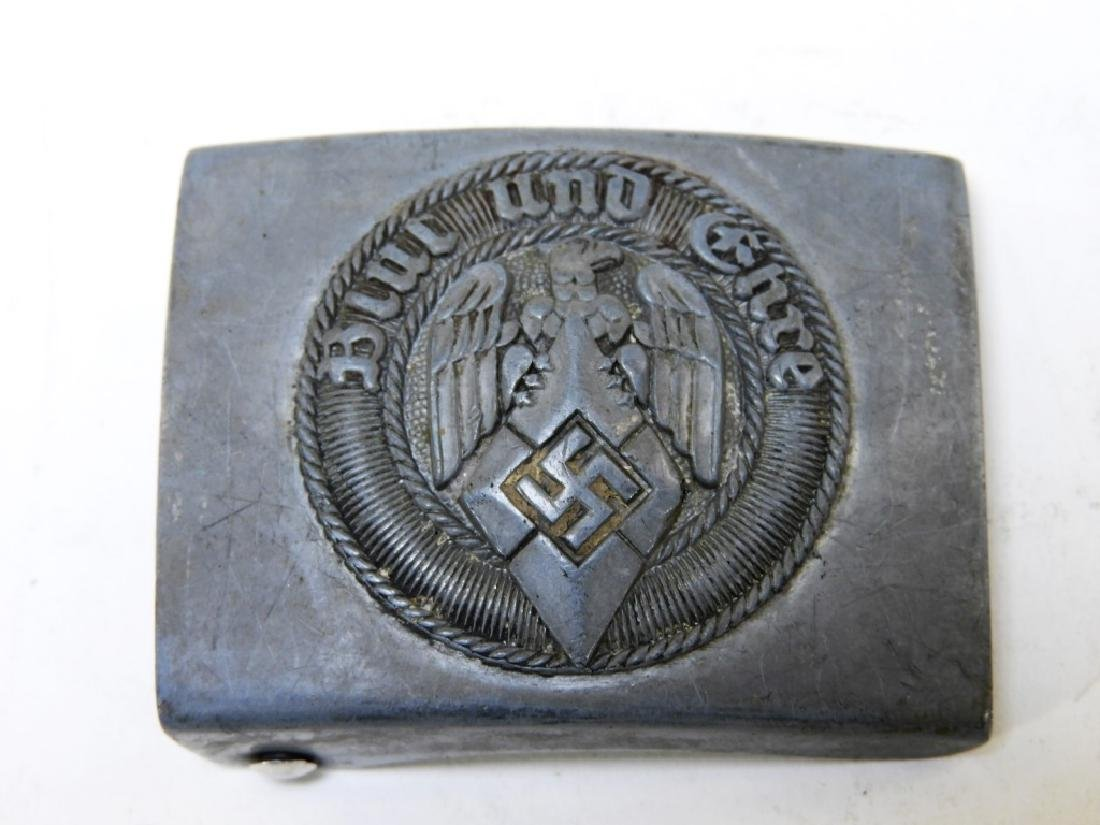 (3) WWII German Military Belt Buckles - 4