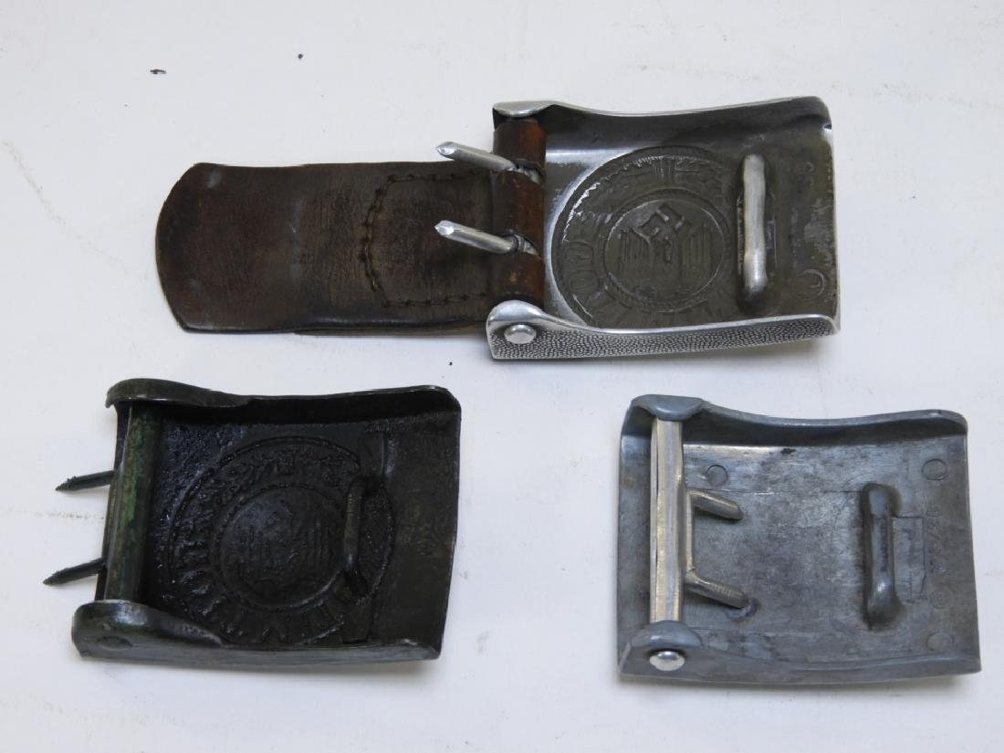 (3) WWII German Military Belt Buckles - 5