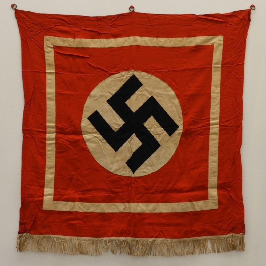 WWII German NSDAP Podium Banner
