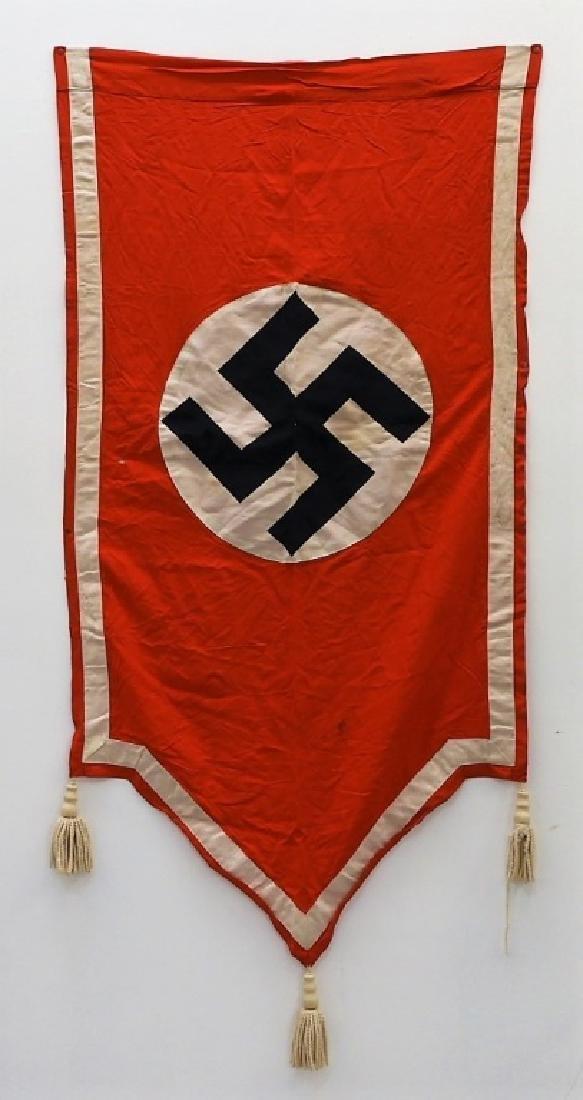 WWII German NSDAP Nazi Wall Banner