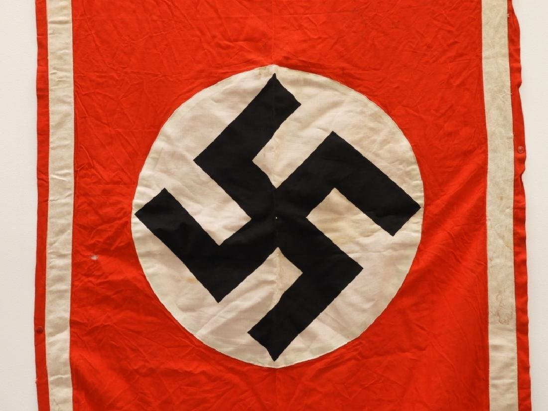 WWII German NSDAP Nazi Wall Banner - 2