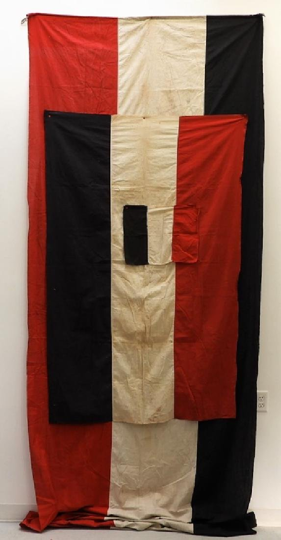 (3) German Empire Sates Flags