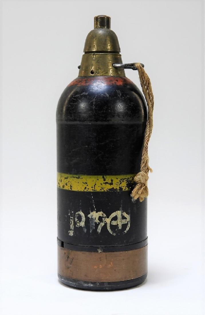 WWII Japanese Inert Knee Mortar Shell