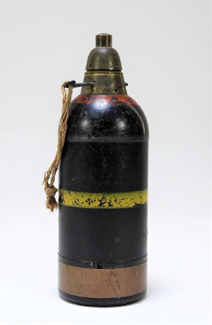 WWII Japanese Inert Knee Mortar Shell - 2