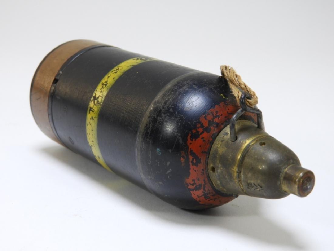 WWII Japanese Inert Knee Mortar Shell - 3
