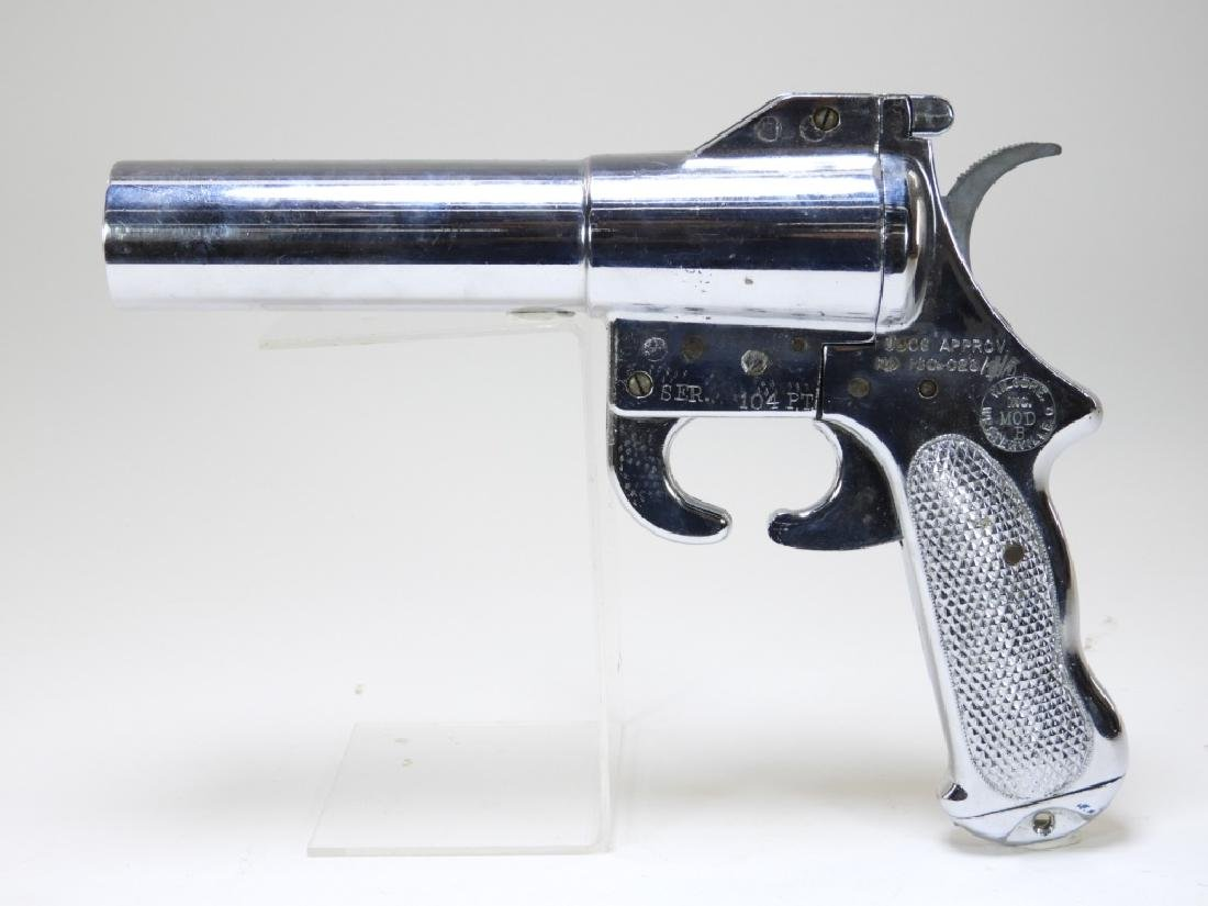 WWII Period Flare Gun Model B by Kilgore Inc