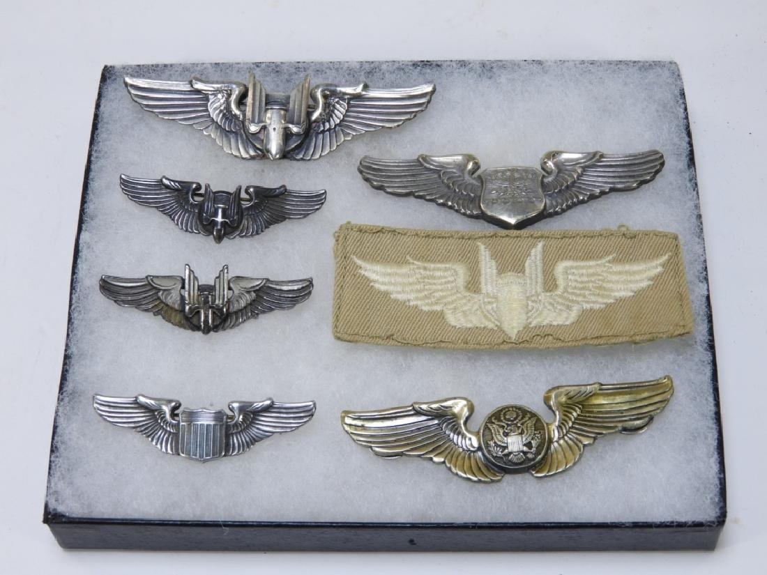 WWII U.S. Army Air Corps Wings (7)