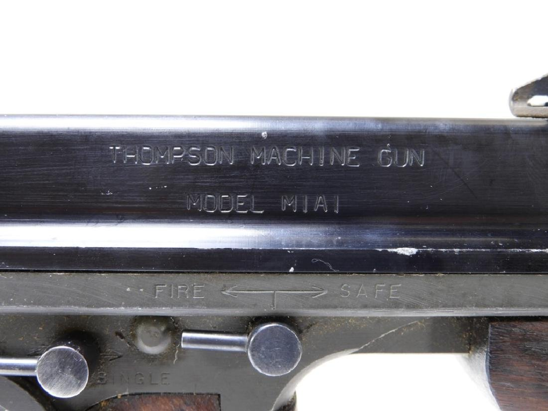 Thompson Submachine Gun Model M1A1 Display SMG - 5