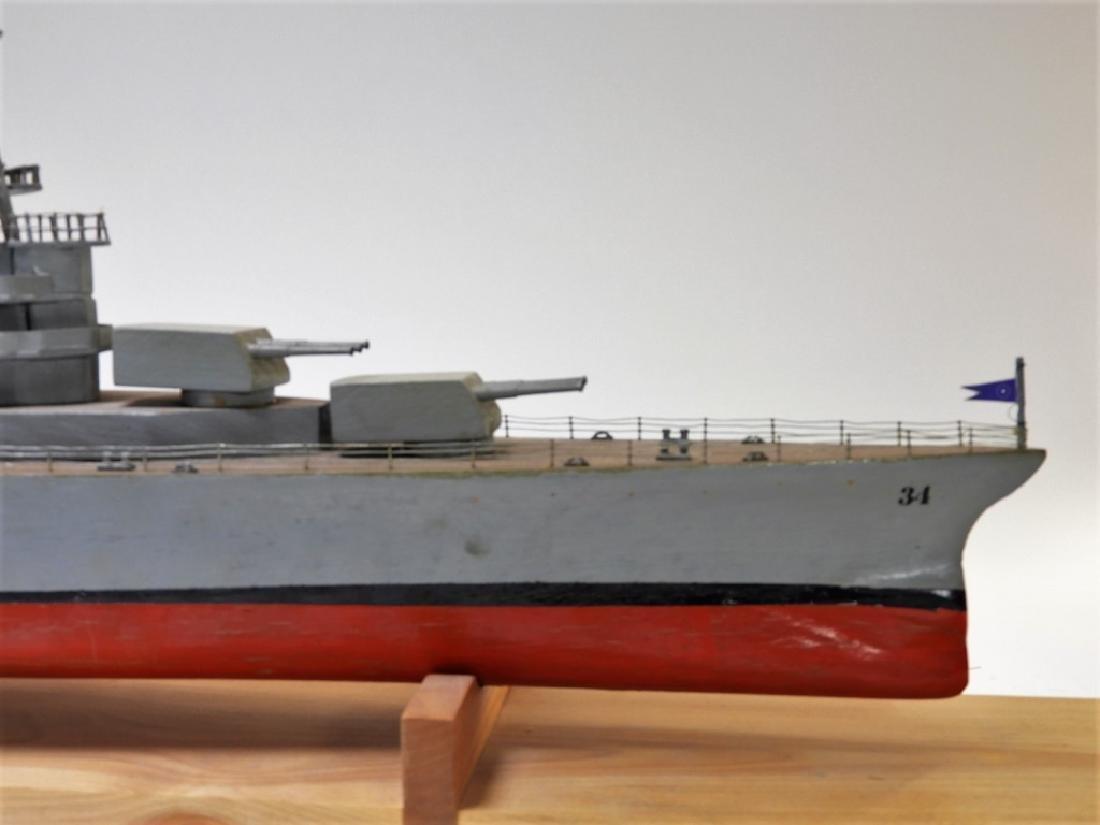 "Ships Model of Portland Class Heavy Cruiser ""34"" - 2"