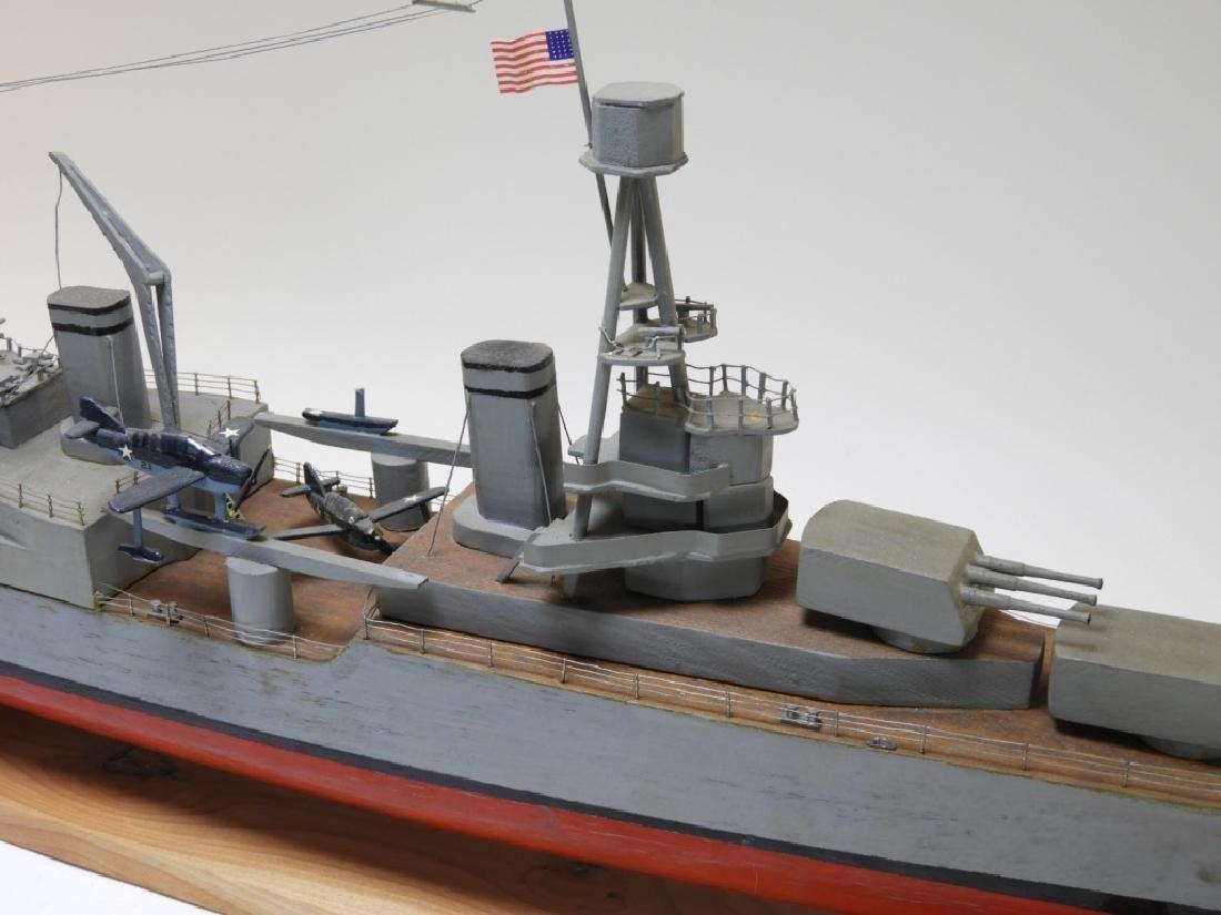 "Ships Model of Portland Class Heavy Cruiser ""34"" - 3"