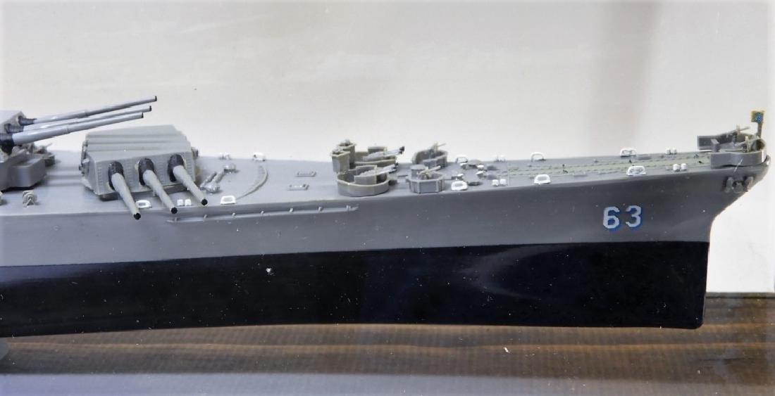 Plastic Ship Model of the USS Missouri - 3