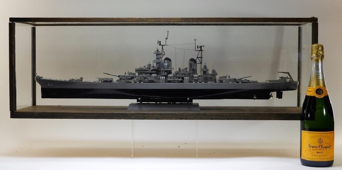 Plastic Ship Model of the USS Missouri - 5