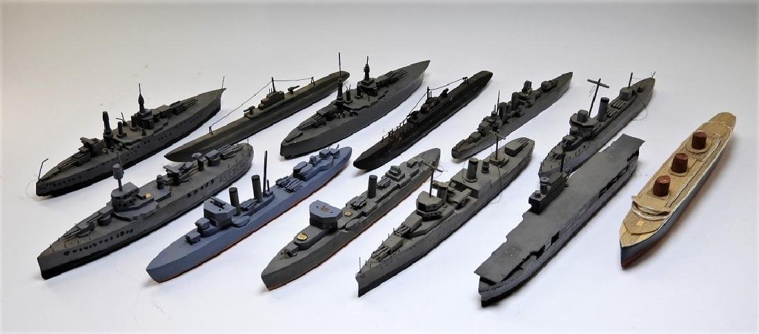 WWII Period U.S. Navy Ships Models (12)