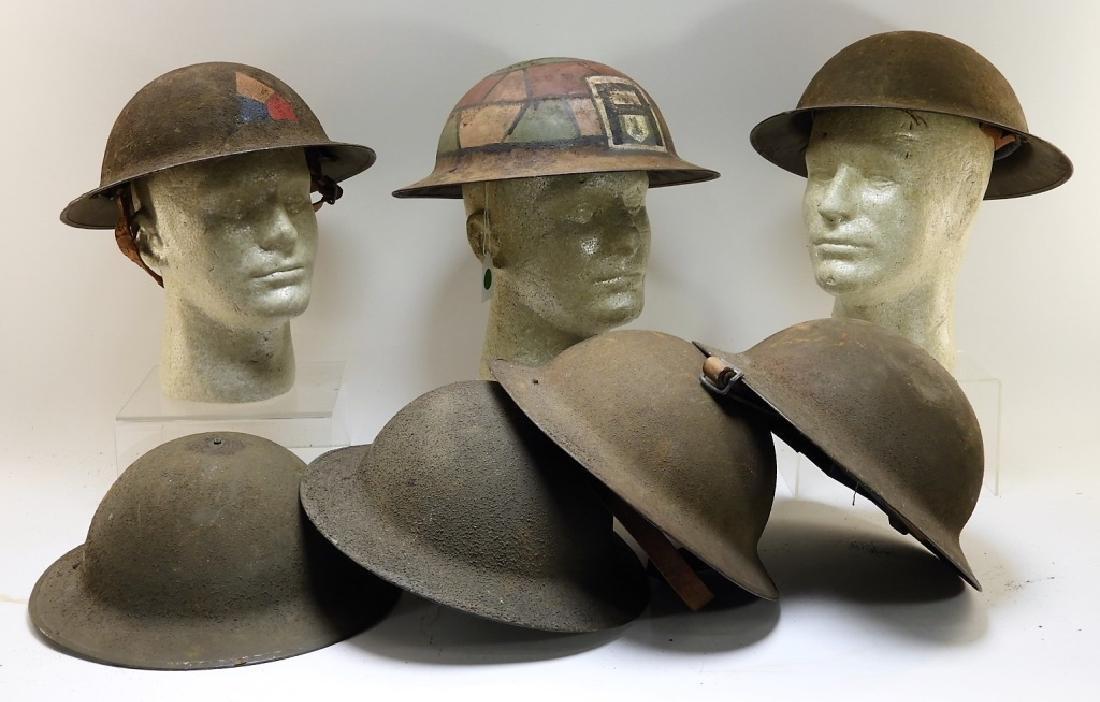 WWI M1917 American Doughboy Helmets (7)