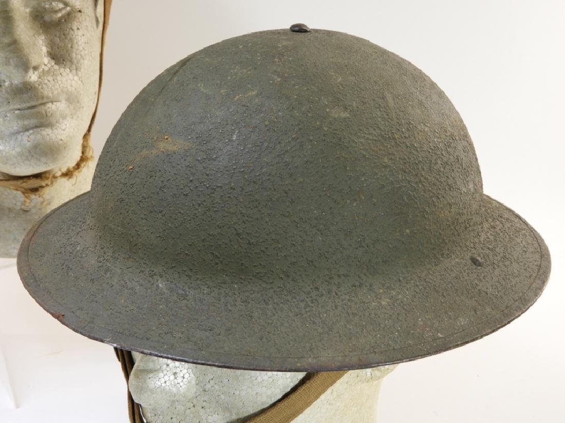 WWII Early War M1917A1 Helmets w/ Marine Corps - 5