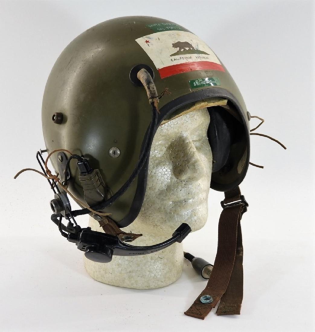 Vietnam War American APH Helicopter Pilot Helmet