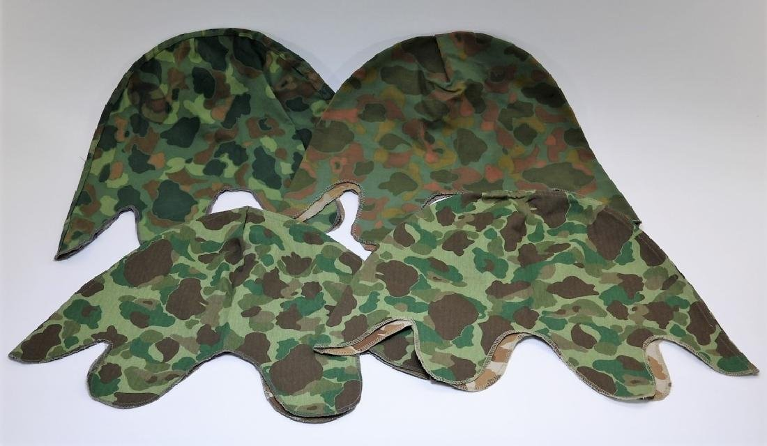 WWII - Korean War Period Helmet Camouflage Covers