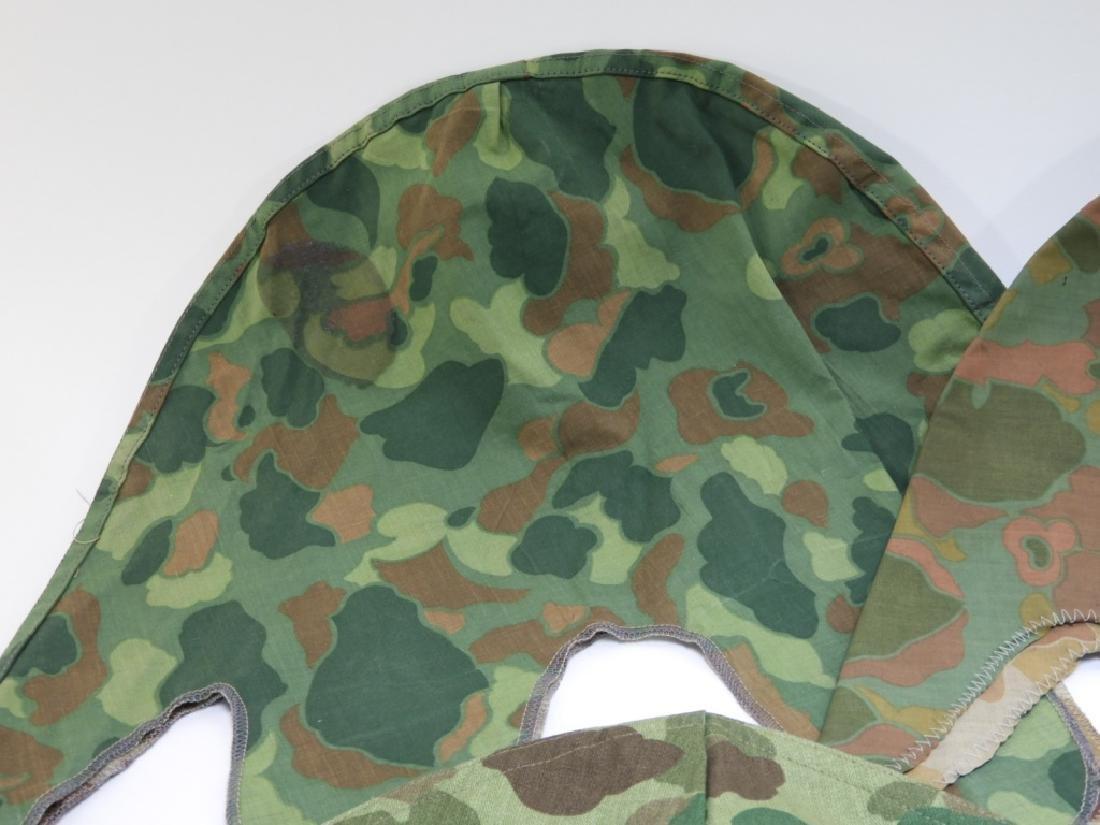 WWII - Korean War Period Helmet Camouflage Covers - 2