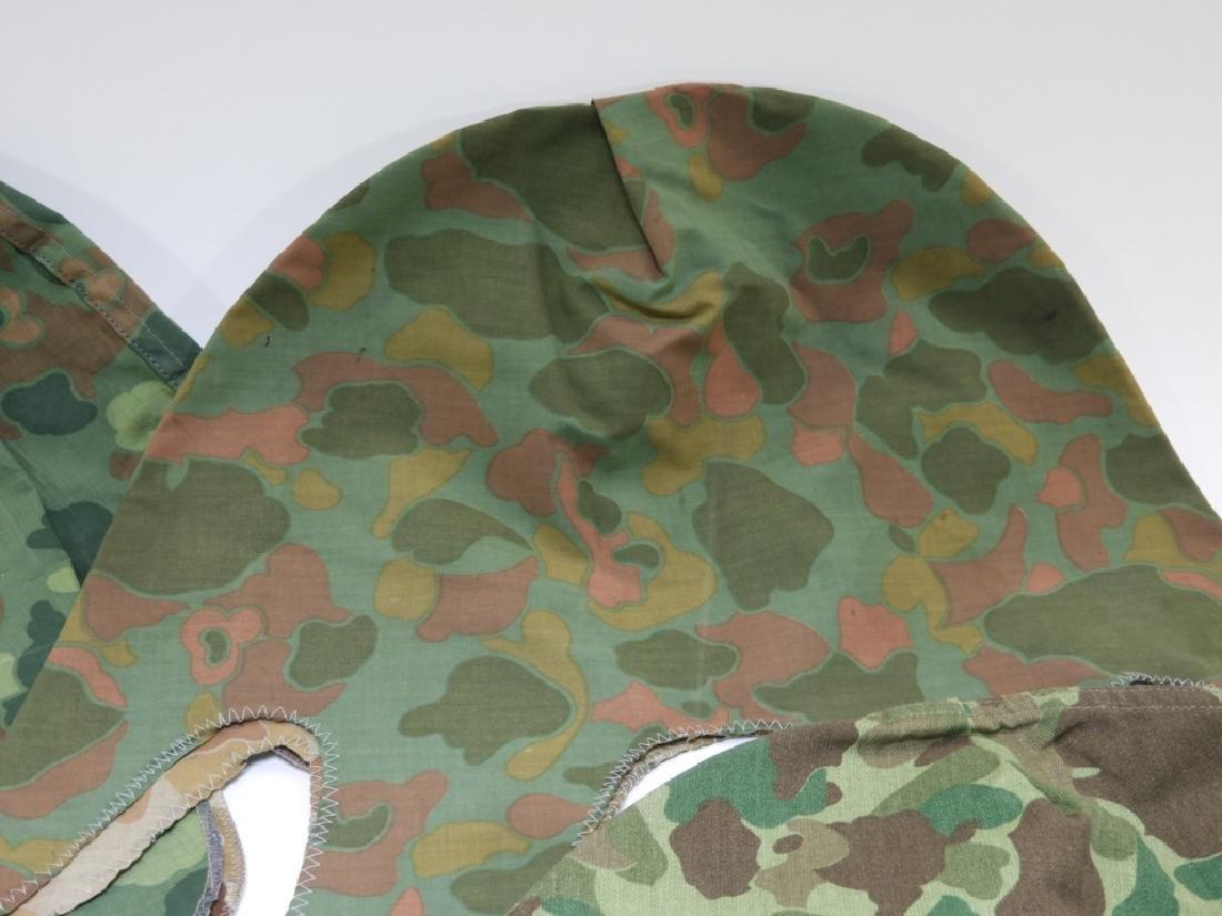 WWII - Korean War Period Helmet Camouflage Covers - 3