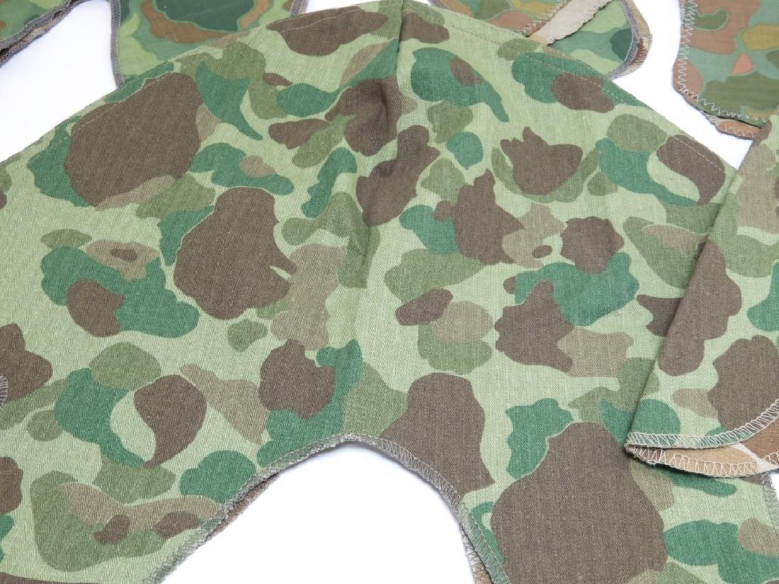 WWII - Korean War Period Helmet Camouflage Covers - 4