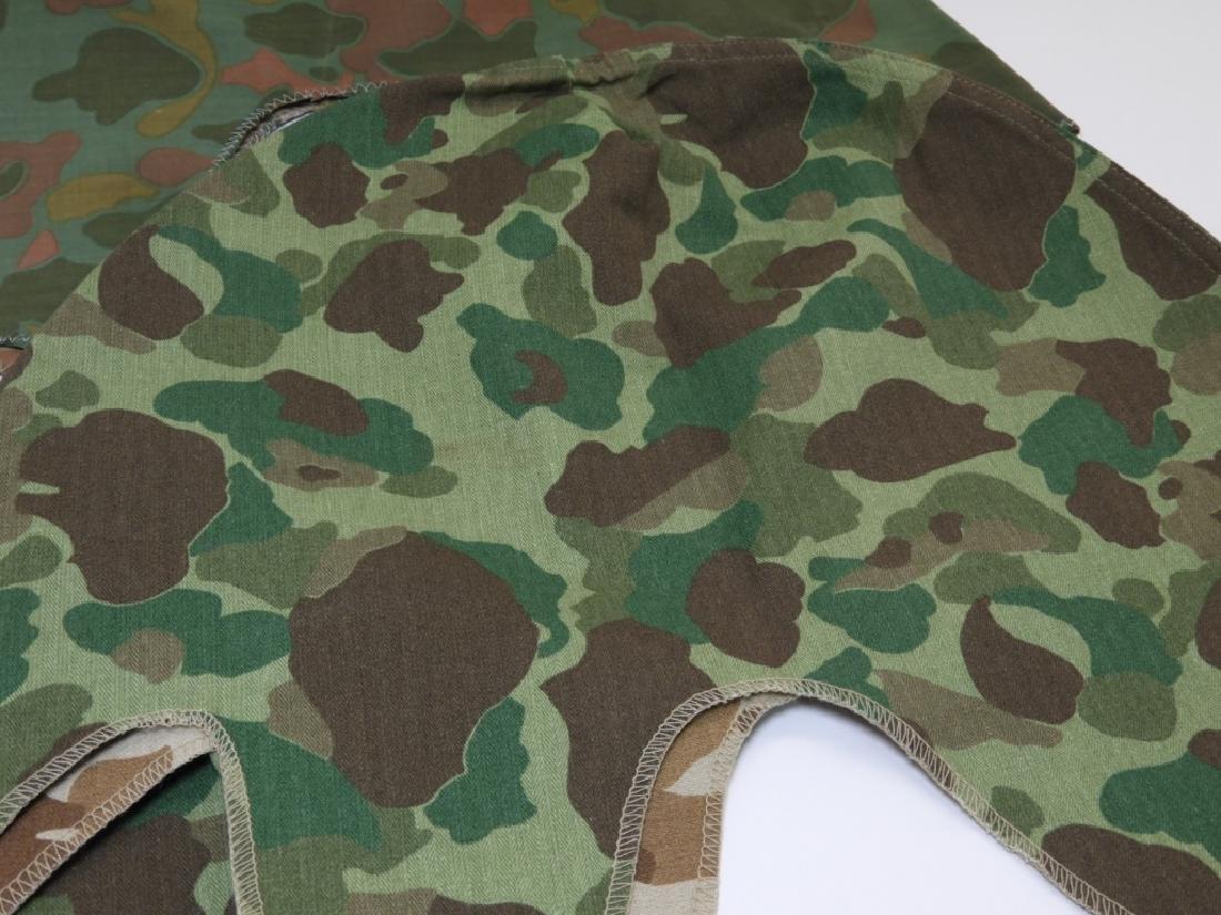WWII - Korean War Period Helmet Camouflage Covers - 5