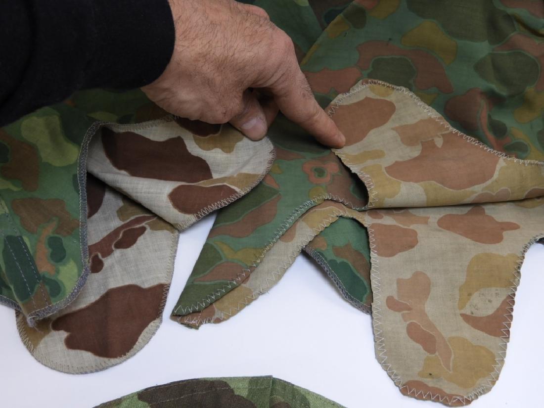 WWII - Korean War Period Helmet Camouflage Covers - 6